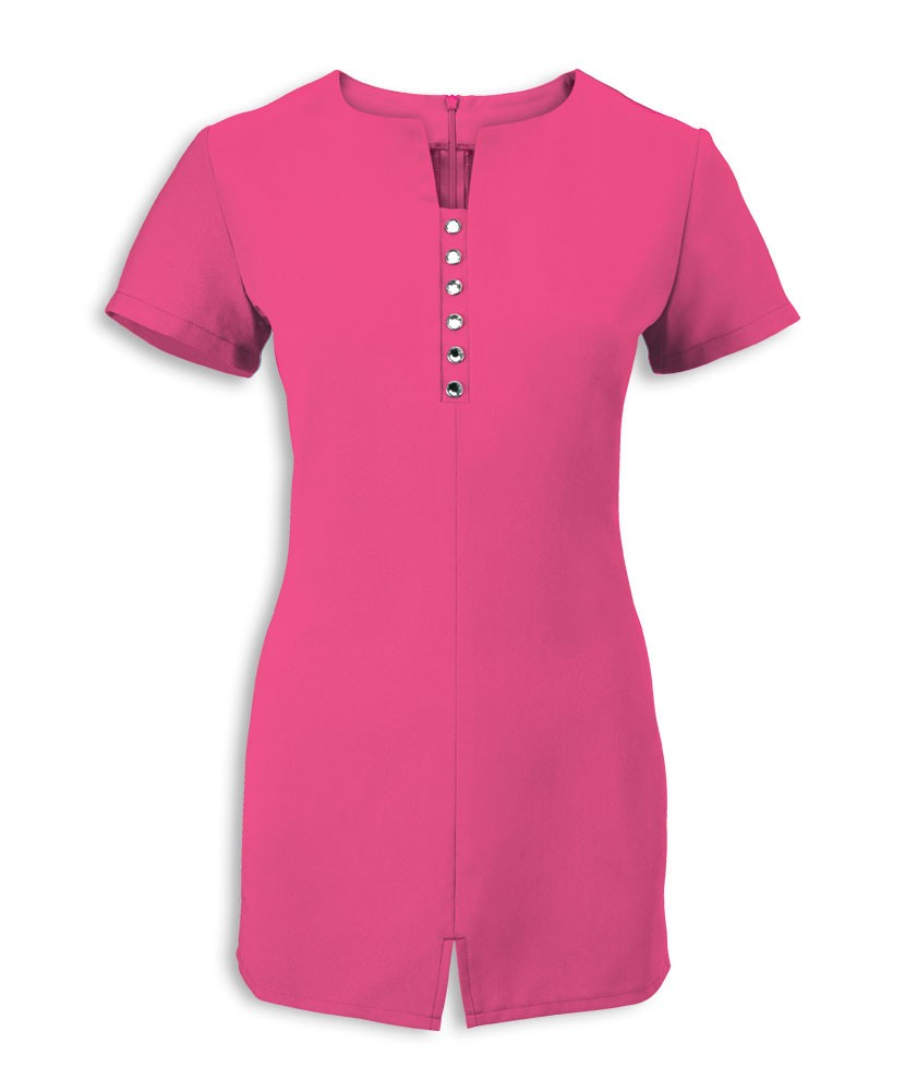 Notch Neck Beauty & Spa Tunic